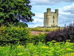 HELMSLEY CASTLE (pajacksonartist) Tags: helmsley north yorkshire ruin ruined keep castle