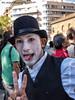 si crede un Clown (albygent Alberto Gentile) Tags: barcellona clown