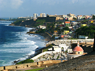 View of the North Coast from El Morro Fort