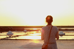 Sunset - Tainan (Chapo78) Tags: taiwan tainan sunset girl view horizon