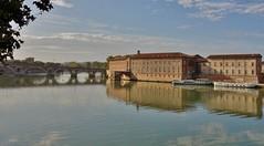 Panorama sur la Garonne (Iris@photos) Tags: occitanie hautegaronne fleuve garonne panorama hôteldieu pontneuf reflets france toulouse