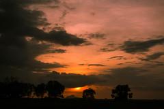 Bengaluru Sunset (Mark Griffith) Tags: amazon amazoncom bangalore india sonyrx100v worktrip bengaluru countryside ournativevillage offsite