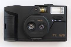 TL 168 (pho-Tony) Tags: photosofcameras tl168 tl 168 twin lens twinlens tele wide telephoto wideangle cheap plastic 35mm dual duallens hanimex 35 dl hanimex35dl cronus 35dl cronus35dl kinson35dlkin sonwide 34mm 156tele 44mm 18
