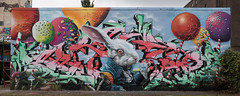 AFTER SUN JAM 2017 - CANDY SHOP edition (diwan) Tags: germany deutschland sachsenanhalt saxonyanhalt magdeburg city stadt place aerosolarena freiluftatelierev industrieruine industriehallen verlassenefabrik abandonedfactory industrialdecay lostplaces wand wall streetart strassenkunst graffiti spray farbe color artists searok knibal teammadflava aftersunjam2017candyshopeditionhiphopmeetsklassik google nikcollection plugins viveza2 fotogruppe fotogruppemagdeburg sigma35mmf14dghsmart canoneos5dmarkiv canon eos 2017 geotagged geo:lon=11670538 geo:lat=52160225