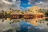 Grand Wailea, Maui (PIERRE LECLERC PHOTO) Tags: maui hawaii hawaiian grandwailea hotel resort tropical reflection landscape thatchroof palmtrees vacation travel destination places luxury pierreleclercphotography canon5dsr