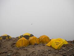Off The Ledge (RoamingTogether) Tags: africa barafucamp clouds hiking kilimanjaronationalpark mountkilimanjaro nationalpark panasonic panasonic1442powerois panasoniclumixdmcgf3 tanzania
