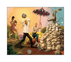 La colère du singe ! (jldum) Tags: streetart street art artist artiste artdelarue ibiza baléares penture tag murale peinturemurale iphone apple
