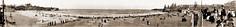 "Circa 1915 - ""Coogee Beach"" Panorama, Sydney, New South Wales, Australia (restored version)"