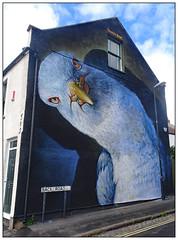 Got Any Grub? (donbyatt) Tags: bristol bedminster upfest upfest2017 streetartfestival murals urbanwalls spraycans irony boe