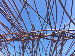 Lignes (Lionelcolomb) Tags: iphone6 perspective architecture blue bleu mucem marseille france ciel sky line lignes