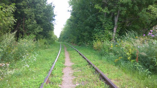 Lubertsy-2 station access tracks
