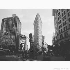 Flatiron Building (Harley Mitchell) Tags: flatironbuilding nyc newyorkcity flatiron street streetphotography blackandwhite