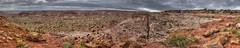 Wide view of Paria Discovery Site B (Chief Bwana) Tags: az arizona pariaplateau vermilioncliffs panorama navajosandstone skypocket psa104 chiefbwana wavybowl 500views