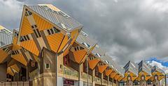 Kubushaus in Rotterdam (ulrichcziollek) Tags: niederland holland rotterdam