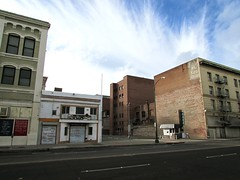 Stockton, CA (JAVA1888) Tags: abandoned california stockton buildings downtown old dilapidated stores storefronts closed streetscenes documenting city
