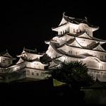 Himeji Castle, at night. thumbnail