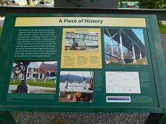 Piece of History Sign (jimmywayne) Tags: vermont addisoncounty chimneypoint lakechamplain bridge piece 1929 history sign