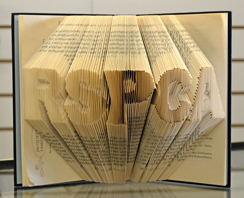 RSPCA - Folded book art
