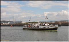 MV Balmoral @ Port Of Swansea. south Wales UK (Crowbuster) Tags: mv balmoral 1949 white funnel passenger vessel ship boat swansea abertawe harbour docks river tawe sa1 smq sea wales cymru coast sail ferry pilot heritage steam packet maritime