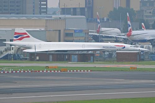 BAC / Aerospatiale Concorde 102 'G-BOAB'