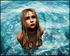 For whatever we lose (like a you or a me), It's always our self we find in the sea. (Yuna.Styles) Tags: dbposes neverendinglove water wethair maitreya blueberry love summertime catwa