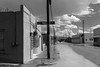 (el zopilote) Tags: truthorconsequences newmexico townscape architecture street powerlines signs clouds canon eos 5dmarkii canonef24105mmf4lisusm canonites fullframe bw bn nb blancoynegro blackwhite noiretblanc digitalbw bndigital schwarzweiss monochrome 500 600