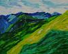 Impressionistic Landscape (BKHagar *Kim*) Tags: bkhagar art artwork painting paint acrylic landscape impressionist blue green artday