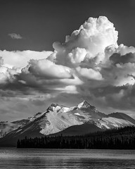 Reaching for heaven (niallfritz) Tags: clouds mountains peaks lake jasper canada alberta ngc coth coth5 ruby5