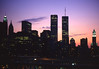 TWIN TOWERS 1995 (Aristide Mazzarella) Tags: twin towers 1995 aristide mazzarella fotografo photographer nardò salento new york tramonto sunset analog photo foto analogica contax carl zeiss kodak
