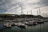 port de Dielette (5) (jolymaxime86) Tags: normandie plage mer see beach bateau boat sun soleil ombre shadow voile noir blanc black white maxime joly