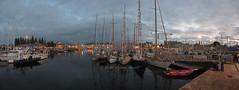 Paimpol at night (Matchman Devon) Tags: classic channel regatta 2017 paimpol panorama night