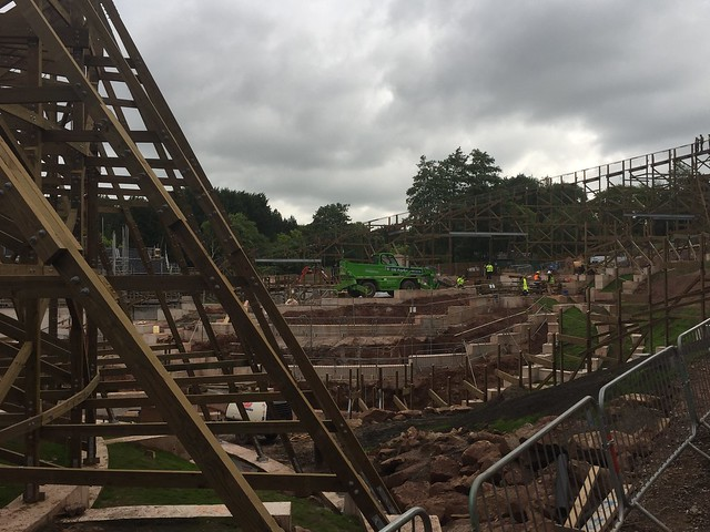 SW8 Construction Site - 11th August 2017