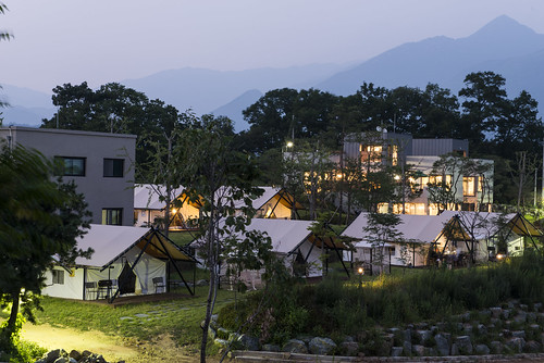 canvas glamping tent Korea7