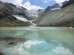 Moiry lake. Val d'Anniviers. Switzerland (ibethmuttis) Tags: lake blue glacier mountains alps switzerland moiry anniviers val ice landscape