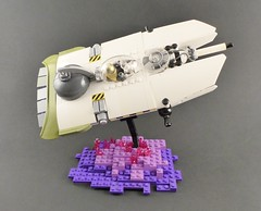 Space Flounder 1 (Tammo S.) Tags: lego moc space scifi starfighter