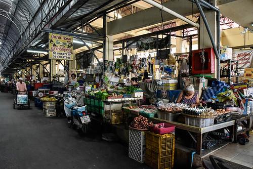 Marché Hua Raw, Ayutthaya, Thaïland