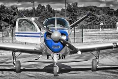 Beechcraft Bonanza V35 (Flox Papa) Tags: v tail beechcraft bonanza v35 florent péraudeau fp f p flox papa