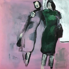 Girls' Night Out [20170915] 20170915_144723 (rodneyvdb) Tags: abstracted art artcontemporain contemporary contemporaryart expression expressionism fashion femme figurative figurativeart fineart girls kunst modernart model muse night painting paris pink portrait portret rose rouge rough street vogue vieenrose woman