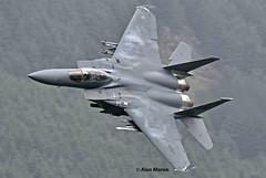 USAF F-15E, DAWG Flight, 494th Fighter Squadron, Lead Jet, Tail No: 91-329 (alanmoran91) Tags: tamron tamron150600mm tamron150600 150600mm nikon nikond7200 d7200 usaf usa aircraft jet f15 mcdonnelldouglasf15 mcdonnelldouglas lowlevelflying lowflying lfa7 wales snowdonia 494th panthers 48fw raflakenheath