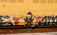 The World's Greatest No-goodnik (akkassay) Tags: borisbadenov graffiti il lagrange ttgx891042