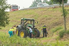 18082017-1266 (Sander Smit / Smit Fotografie) Tags: trekker ongeluk tractor n33 appingedam
