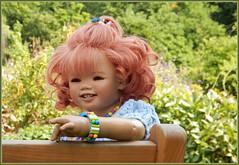Sanrike ... (Kindergartenkinder) Tags: grugapark essen gruga park nrw kindergartenkinder annette himstedt dolls sanrike garten