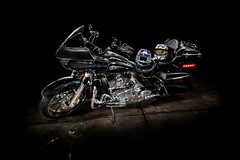 Dark Horse (Jeff Rowton (rebuilding)) Tags: lightpainting darkhorse motorcycle riding harleydavidson
