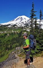 Cowlitz Divide (Dan Nevill) Tags: wonderland rainier wonderlandtrail mtrainier mountrainier nationalpark backpacking camping trail wilderness alex kieth hiking wildflowers washington pacificnorthwest pnw