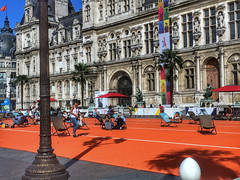 The deckchairs (LUMEN SCRIPT) Tags: olympicgames paris2024 2024 photojournalism urban city france paris people architecture candidstreetphotography ngc colours deckchairs street vivid colour color travel tourism