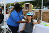 NYC DOT Helmet Fittings at Foley Square Rest Stop (NYCDOT) Tags: citi citisummerstreets summerstreets 2017