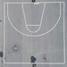 Aerial of Street Basketball