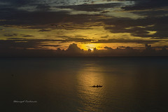 Sunrise Ocean (Akkarapat) Tags: sunset sundown sunrise sunray dramatic dreaming dreamatic dream nikondf nikon sigma70300 sigma
