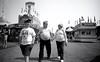 Family at the Midway. Minnesota State Fair. September, 2017 - L_M6_21540 (erlin1) Tags: 2017 analog blackandwhite leicam6 minnesotastatefair september stpaul statefair summer tm100 tmaxdeveloper mn usa