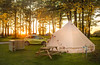 A Summer Holiday Sunset (Rob Pitt) Tags: bell tent derbyshire buxton staden grange camping campsite summer holiday england uk rob photography pitt sunset trees vauxhall adam glamping